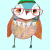 Thumbnail image for worth 1000 words: birds with glasses