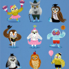 Thumbnail image for worth 1000 words: owls in outfits