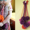 Thumbnail image for DIY pom pom necklaces with the littles