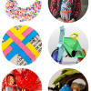 Thumbnail image for round about: <br />rainbow necklaces &#038; art print dresses</br>