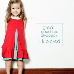 Thumbnail image for great goodness giveaway: li li picked (closed)