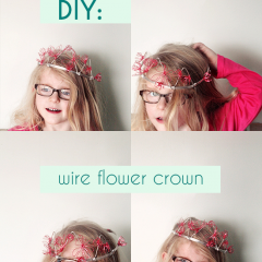 Thumbnail image for DIY: birdie's wire flower princess crown
