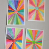 Thumbnail image for DIY: sunburst paintings