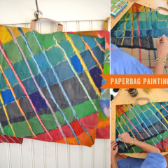 Thumbnail image for DIY: paperbag paintings