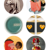 Thumbnail image for round about: old timey costumes & illustrated pen pals