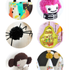 Thumbnail image for round about: a pom pom halloween & some pregnant dolls
