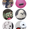 Thumbnail image for round about: pink ukuleles & eraser skeletons