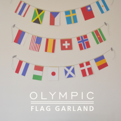 Thumbnail image for DIY: olympic flag garland