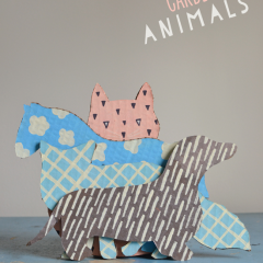 Thumbnail image for DIY cardboard animals {with templates}