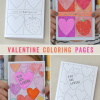Thumbnail image for printable valentine coloring pages