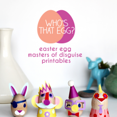 Thumbnail image for masters of disguise: decorate your easter eggs with these printables