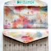 Thumbnail image for handmade gifts – watercolor clutch DIY