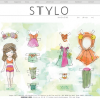 Thumbnail image for spring paper dolls with stylo magazine