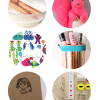 Thumbnail image for round about: hot pink squirrels & honeyed almond milk