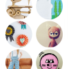 Thumbnail image for round about: smiling pillows & frowning dolls