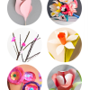 Thumbnail image for six paper flowers to hurry Spring along