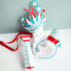 Thumbnail image for make it: July 4th paper crafts with Cricut