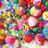 Thumbnail image for worth 1000 words: diy giant beads