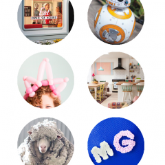 Thumbnail image for round about: wayward sheep & balloon crowns