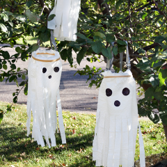 Thumbnail image for make it: the new way to make plastic bag ghosts