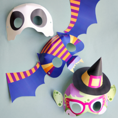 Thumbnail image for boo-tiful masks printable DIY