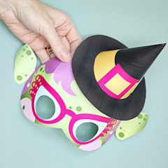 Thumbnail image for make it: Halloween masks and decor with cricut