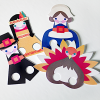 Thumbnail image for make it: thanksgiving printable puppets & photos