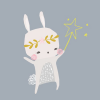 Thumbnail image for worth 1000 words: starry bunny