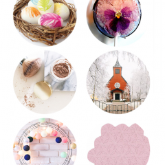 Thumbnail image for round about: lick your flowers & feather your eggs