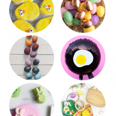 Thumbnail image for round about: golden eggs & delicious peeps
