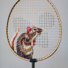 Thumbnail image for worth 1000 words: embroidered rackets