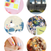 Thumbnail image for round about: container kindergarten & glitter tic tac toe