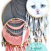 Thumbnail image for make it: t-shirt dreamcatchers DIY