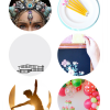 Thumbnail image for round about: watermelon party & seashell crowns
