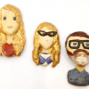 Thumbnail image for worth 1000 words: oooh clay portraits