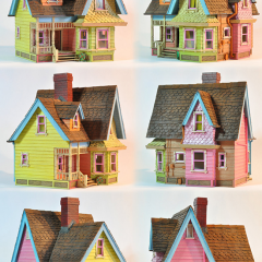 Thumbnail image for worth 1000 words: rainbow houses