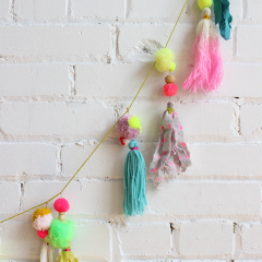 Thumbnail image for pompom garlands: make or buy?