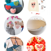 Thumbnail image for round about: valentine pancakes & pin the kiss
