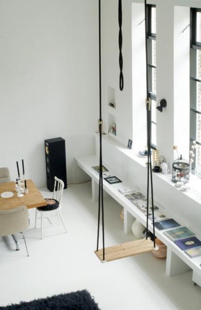 Design for Mankind Swing in Kitchen
