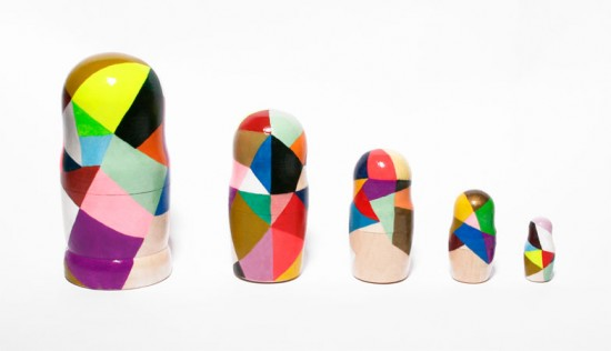 Diy Nesting Dolls Hand Painted Matroysak Dolls Modern Craft