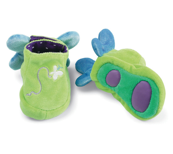 Free Modern Butterfly Baby Booties Toy Designer Giveaway