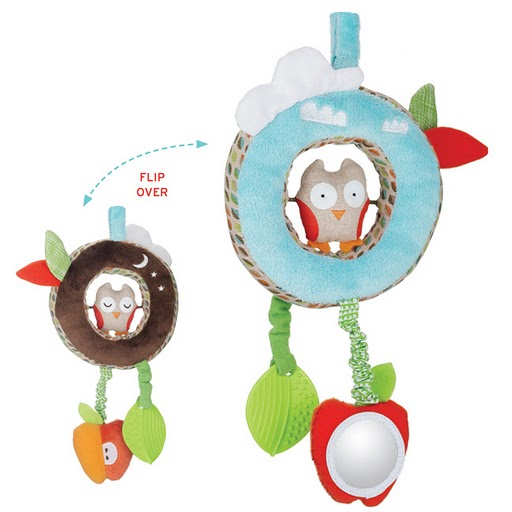 Skip Hop New Treetop Friends Infant Discovery Stroller Toy