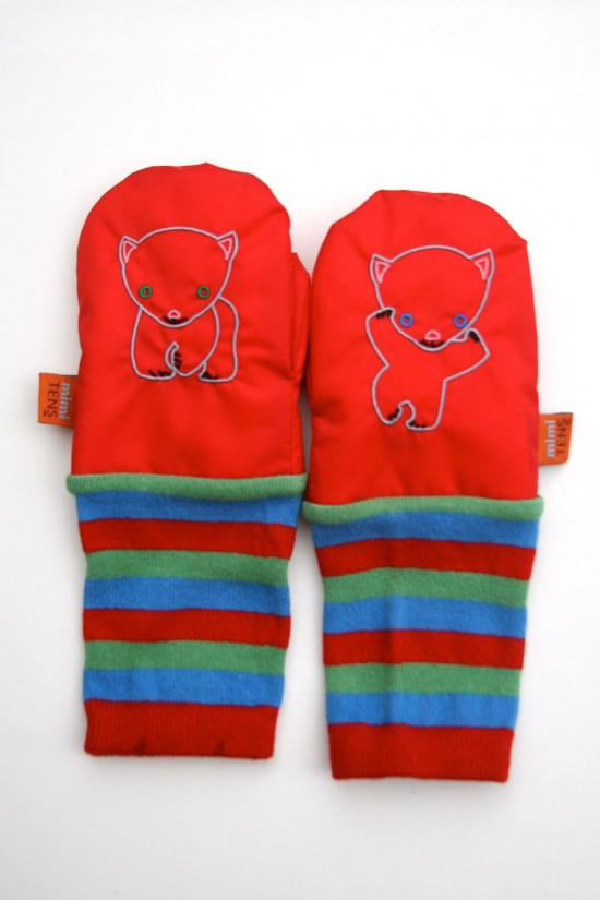 MimiTENS all weather practical stay on cool modern mittens