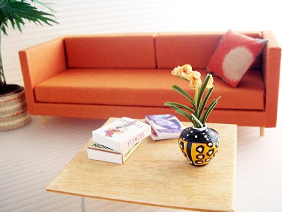 Mini Modernista Miniature Modern Contemporary Dollhouse Furniture