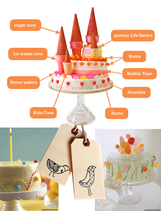 Modern Birthday Party Ideas Party Decor Kids Modern Cake Designs
