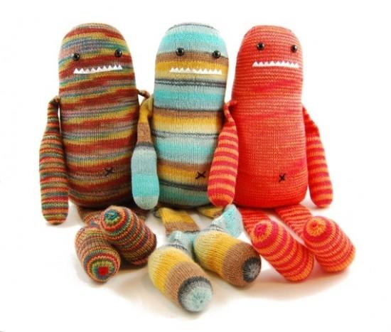 monster knitting pattern   yarn crafts for kids   Danger Crafts Hipster DIY ...