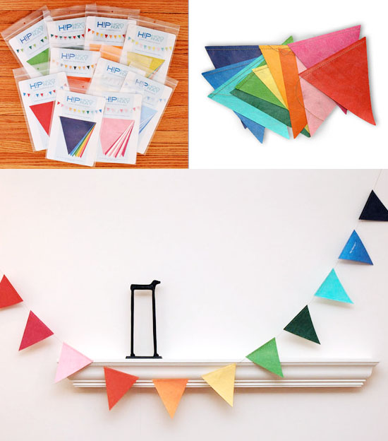 Eco-friendly Reusable Birthday Party Pennant Flag Garland Decor