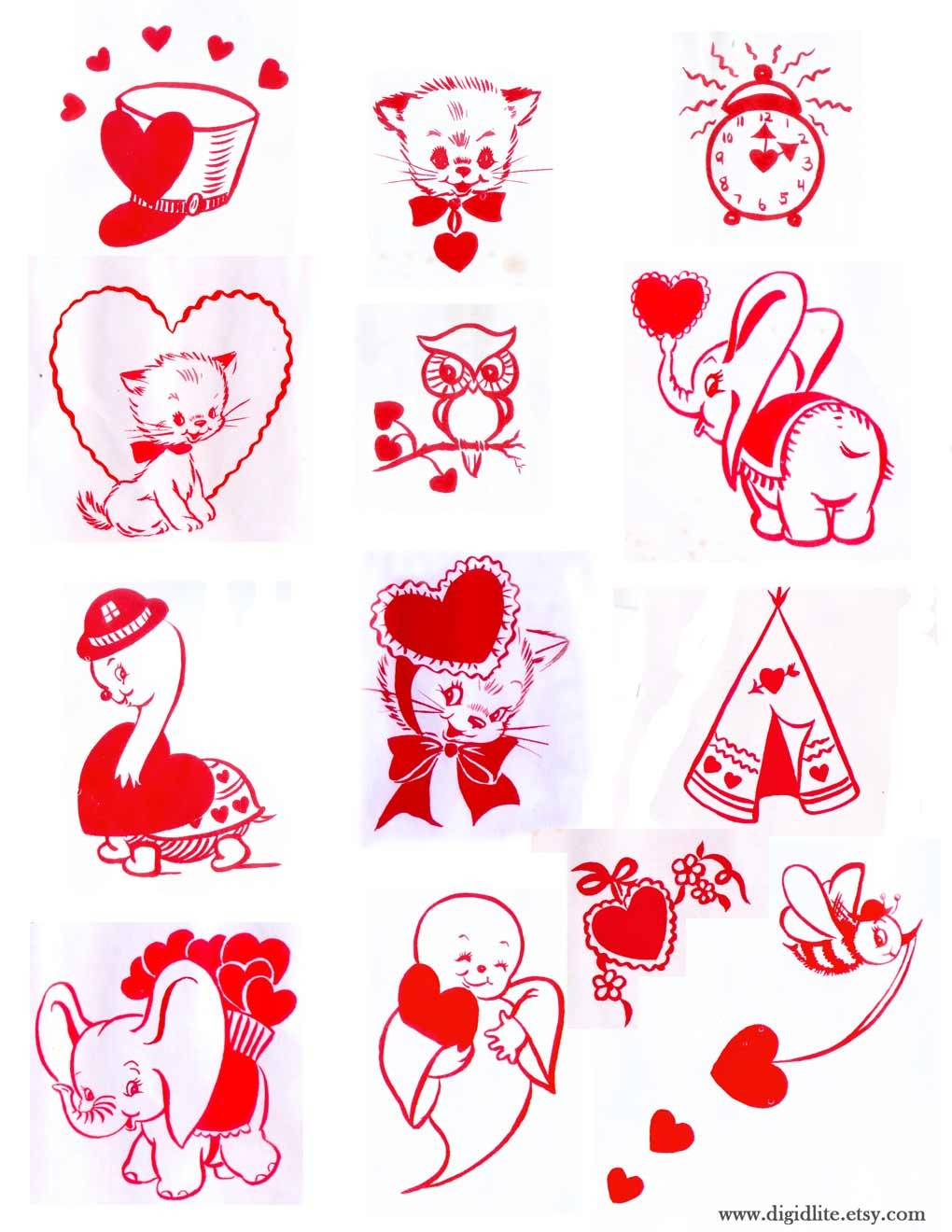 top downloadable valentines  print and give valentines