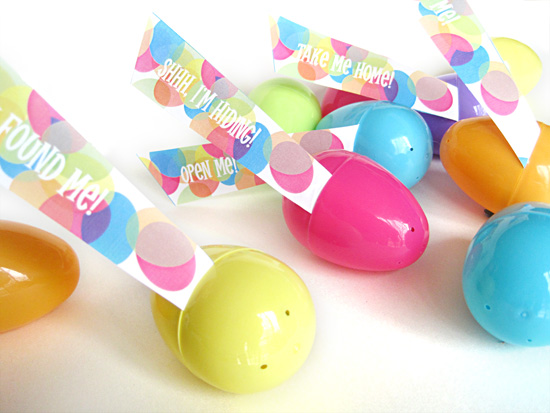 Donwload and Print these Printable Easter Egg Hunt Flags and Tags for your Easter Eggs