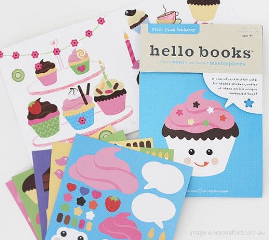 Hello Hanna Yum Yum Bakery Sticker Book for Kids